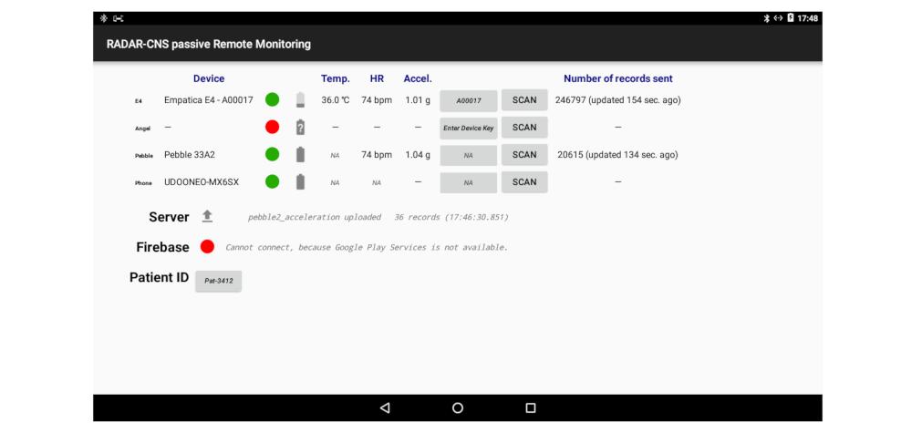 JMU - RADAR-Base: Open Source Mobile Health Platform for