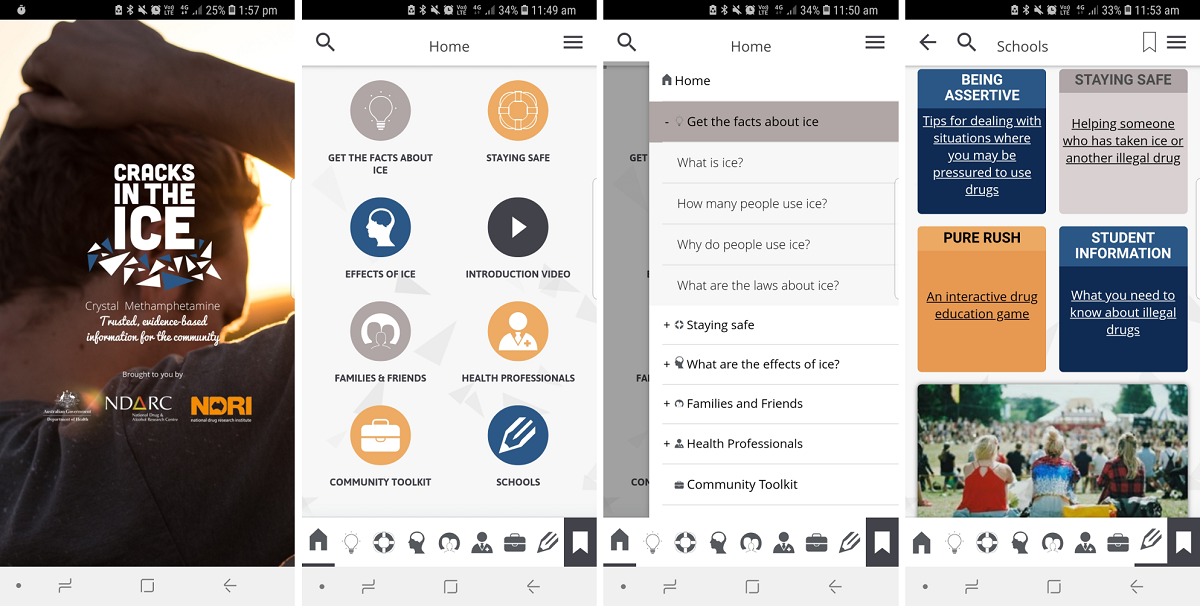 JMU - A Mobile App to Provide Evidence-Based Information