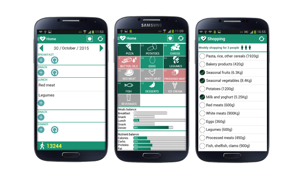 JMU - Design of a Mobile App for Nutrition Education (TreC-LifeStyle