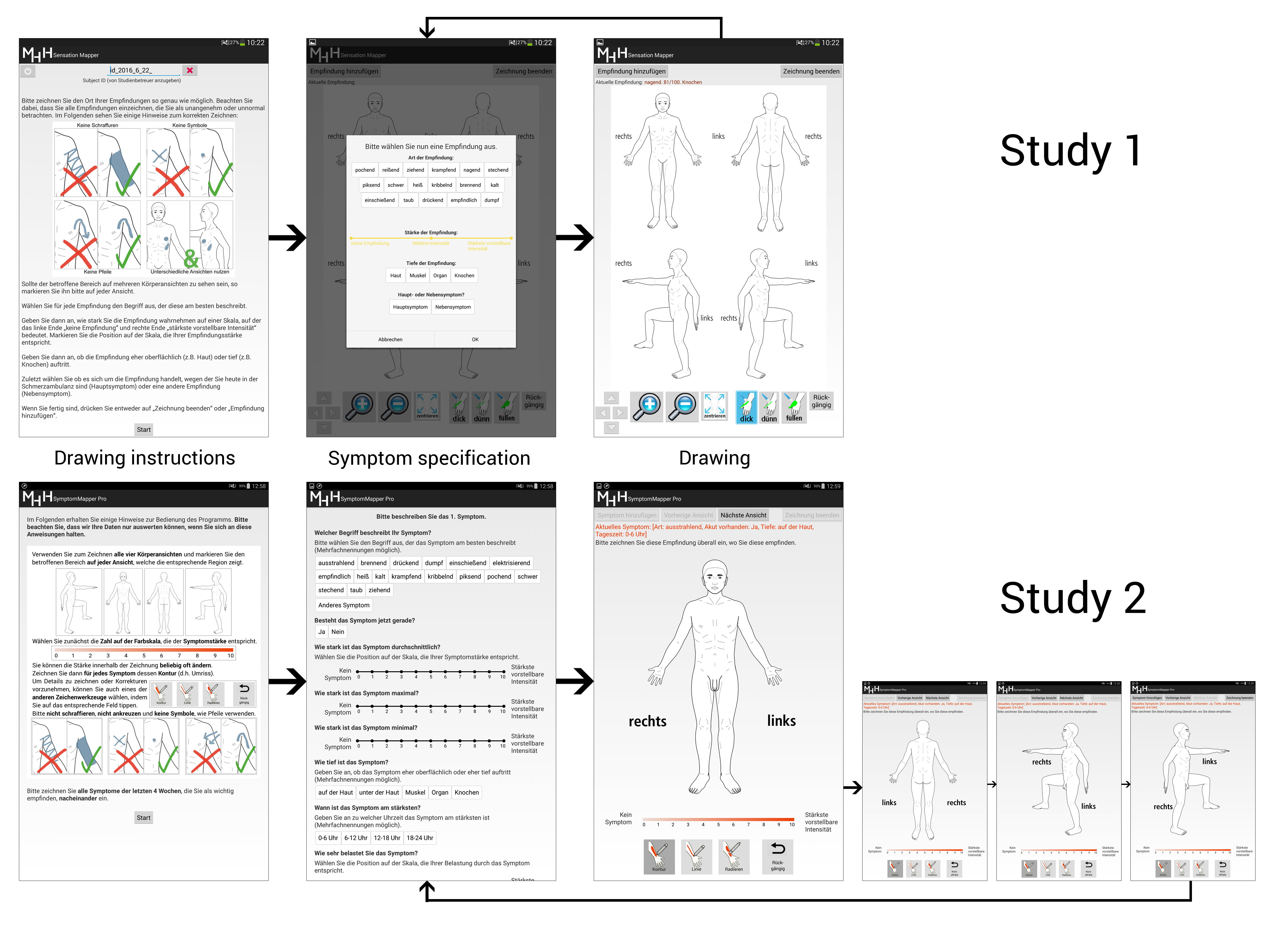 JMU - Designing a Tablet-Based Software App for Mapping Bodily