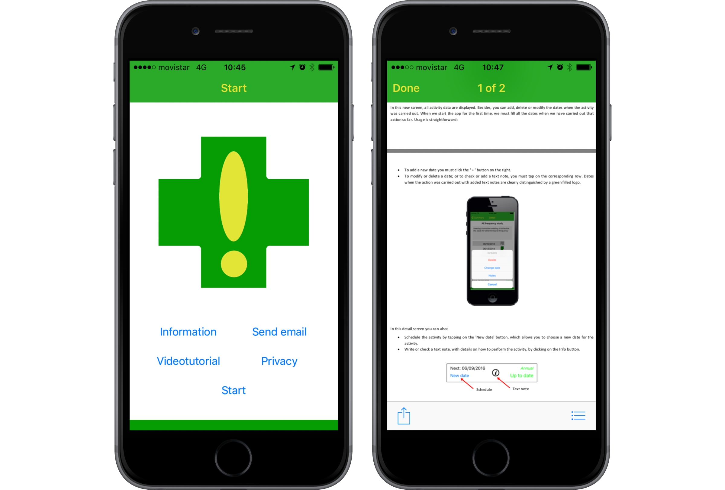 JMU - Design and Testing of the Safety Agenda Mobile App for
